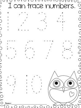 Back to School Owl Pack - Michelle Griffo - TeachersPayTeachers.com