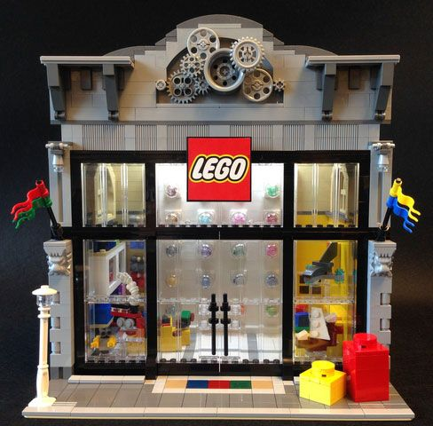 LEGO MOC: LEGO Store Modular Version - Image #01