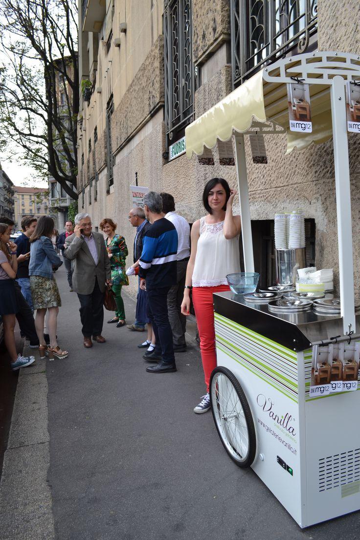 #fuorisalone2015 #Cocktailparty #streeticecream #mg12