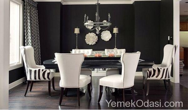 Siyah Modern Yemek Odaları Yemek odaları genellikle parlak renklerde veya nötr renklerde seçilir. Bu yüzden bizler bugün alışık olduğumuz tarzın dışına çıkıyor ve koyu bir rengin yemek alanında ana renk olabileceğini gösterecek tasarımlarla tanıştırıyoruz sizleri. Yemek odası için ayırdığınız alanlara siyah eklemeler yapı ... http://www.yemekodasi.com/siyah-modern-yemek-odalari/