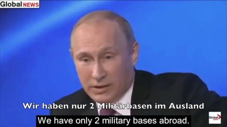Putin zerstört BBC Journalisten I Wir haben das Recht uns zu Verteidigen, was macht Amerika? - YouTube