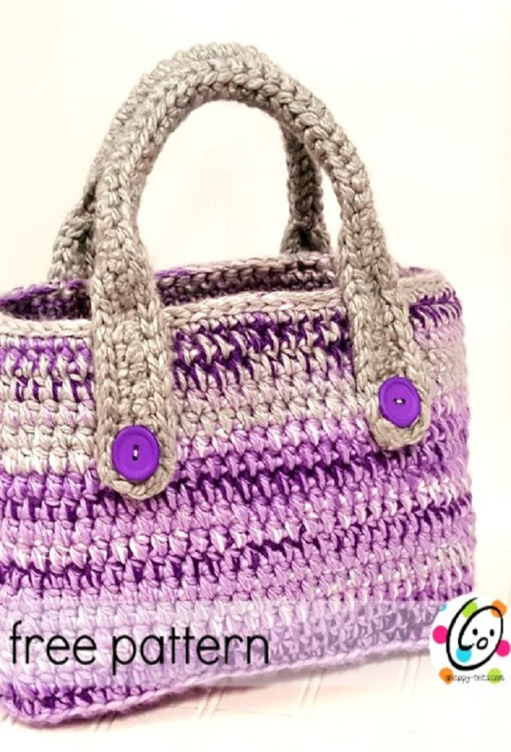 158 best bags purple images on pinterest places to visit bags crochet pattern essential project tote bankloansurffo Gallery