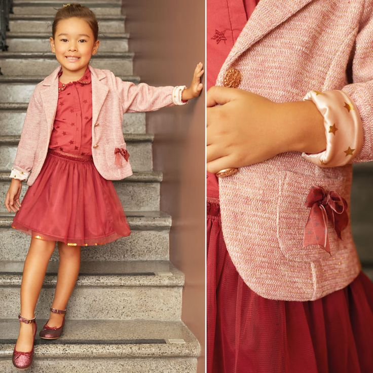Look for baby girl. #Blazer #tulle #tutú #fashionkids #fashionbabygirl #fashion #specialoccasions #SpecialOC #OFFCORSS