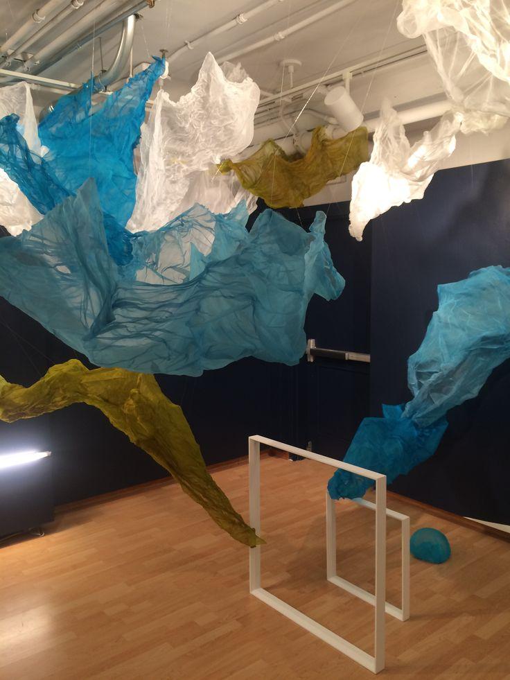 'Always into Now' // Lisa Kellner // silk organza