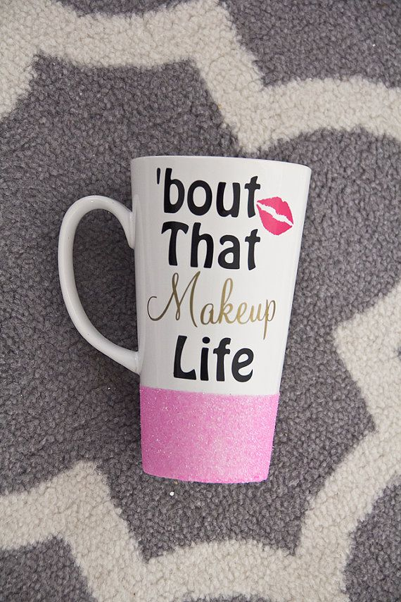 bout that makeup life//Personalized Coffee by Lockandkeyglamourie