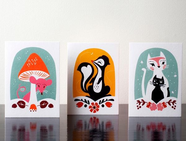 Little Wonders kort fra Darling Clementine |Norway Designs