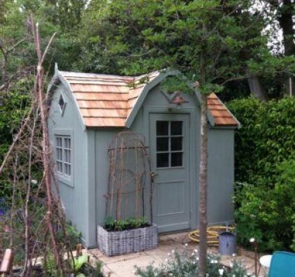 67 best the potting shed images on pinterest posh sheds for Cedar shingle shed