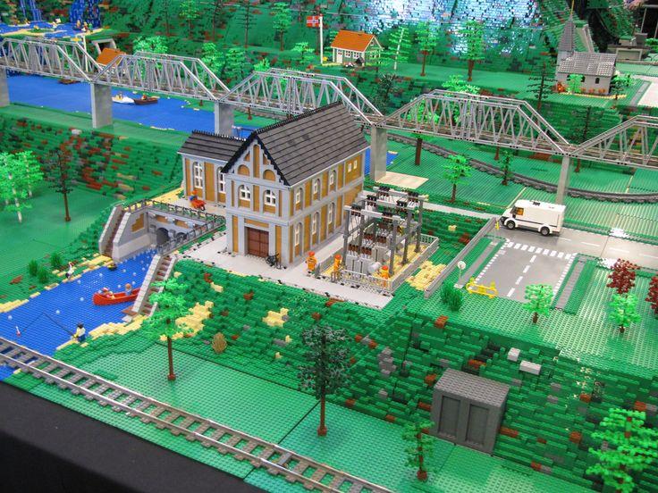 177 besten lego bilder auf pinterest lego haus lego for Lego modernes haus