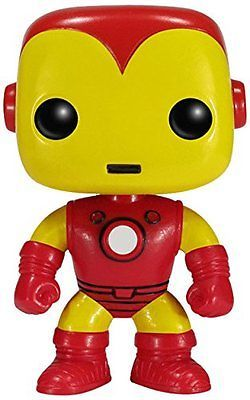 FunKo POP Iron Man Action Toy Figure, Marvel, New, Free Shipping