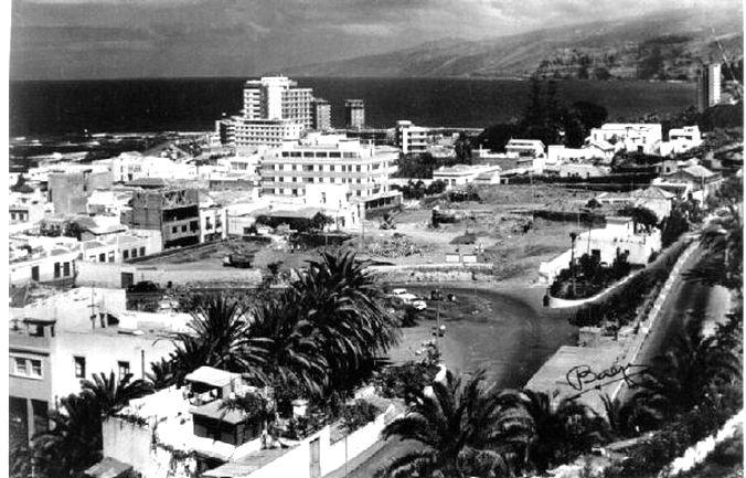 Comenzando Obras del Belear  Puerto de la Cruz, Tenerife