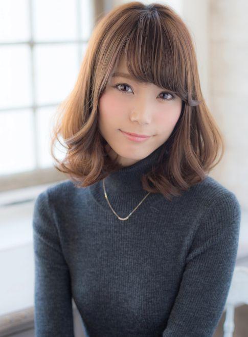 大人気ミックスカール 【Rue D'or 栄】 http://beautynavi.woman.excite.co.jp/salon/27744?pint ≪ #mediumhair #mediumstyle #mediumhairstyle #hairstyle・ミディアム・ヘアスタイル・髪形・髪型≫