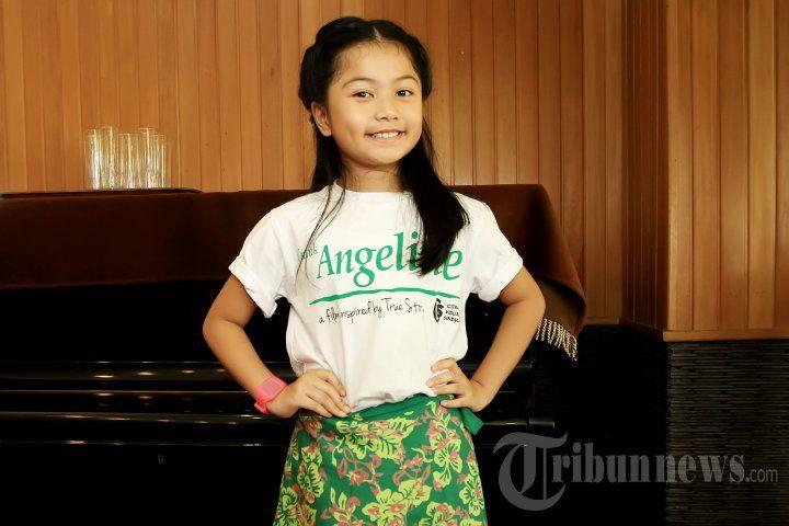 NAOMI IVO - Pemain film Naomi Ivo saat menghadiri acara syukuran untuk proses syuting film yang berjudul 'Untuk Angeline' di Dapur Sunda Pondok Indah Mall, Jakarta Selatan, Kamis (7/1/2016). Film ini diilhami kisah nyata Angeline, tragedi gadis cilik dari Bali dengan target selesai dalam tiga pekan. TRIBUNNEWS/JEPRIMA