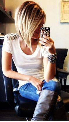 21 Stunning Medium Bob Hairstyles                              …
