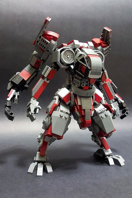 This four-armed mech is too good