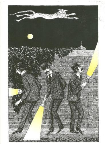 Edward Gorey illustrations for PBS Mystery... always fabulous.. | Random