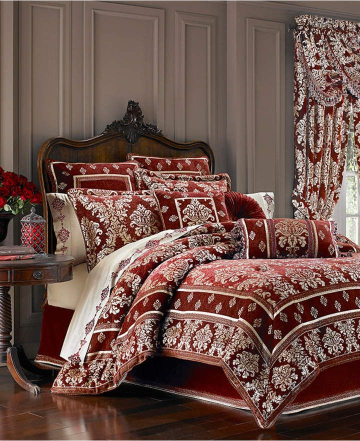 J Queen New York Dynasty 4pc Bedding Collection Luxury