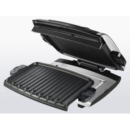 George Foreman Nonstick Removable Plate Digital Electric Grill with 2 Trays and Spatula -- You can get additional details at the image link.