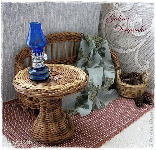 Декор предметов Поделка изделие Плетение Моё плетение Апрель Трубочки бумажные фото 20