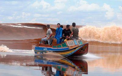 Ombak Bono di Provinsi Riau | Kuansing_Terkini
