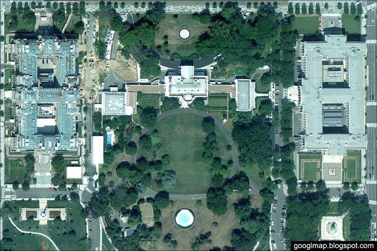 Интересные места на картах Google: Интересные места Google Maps: Белый Дом