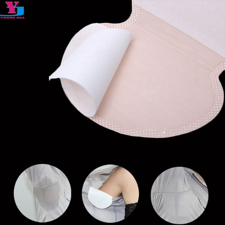 20Pcs/lot Armpit care Sweat Pads Disposable Underarm Dress Clothing Absorbing Sweat Guard Deodorant Antiperspirant Unisex Shield