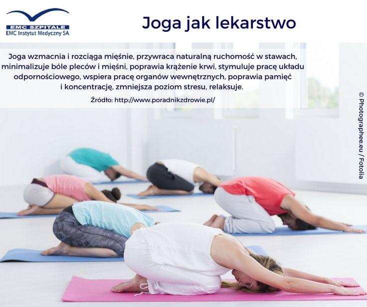 Joga ma mnóstwo zalet. To prawdziwe lekarstwo :) #emc #emcszpitale #yoga