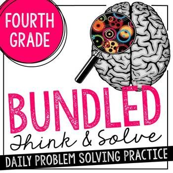 Problem solving is one of the most challenging skills we teach in math. Research shows the best way to build these skills is through short, purposeful daily practice with both single- and multi-step word problems. This daily problem solving pack is designed to take less than 15 minutes per