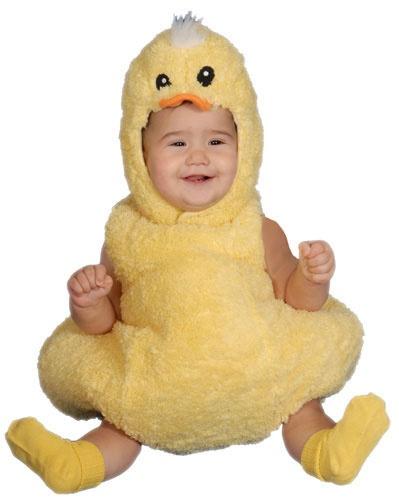 Fuzzy Duckling Halloween Costumes for Infants HalloweenCostumes4u.com $28.00