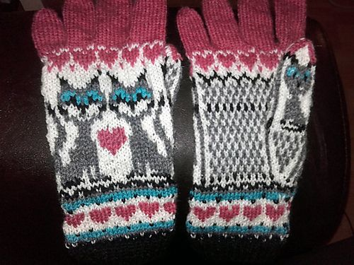 1407 best Knit mittens and handwarmers images on Pinterest ...