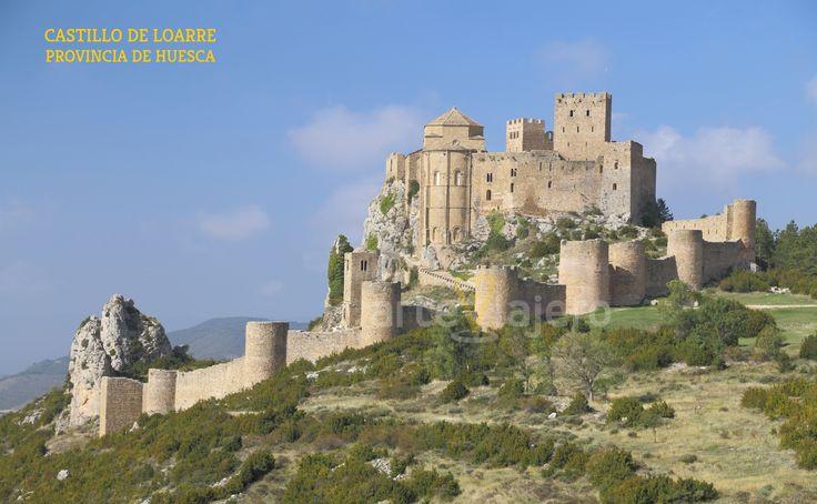 Castillo de Loarre, provincia de Huesca, Aragón http://arteviajero.com/