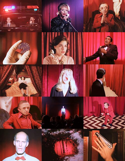Twin Peaks - In red