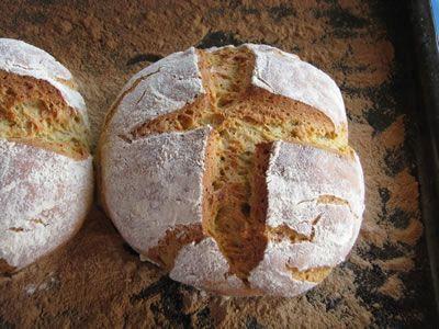 χωριάτικο ψωμί - Greek village bread (in Greek)