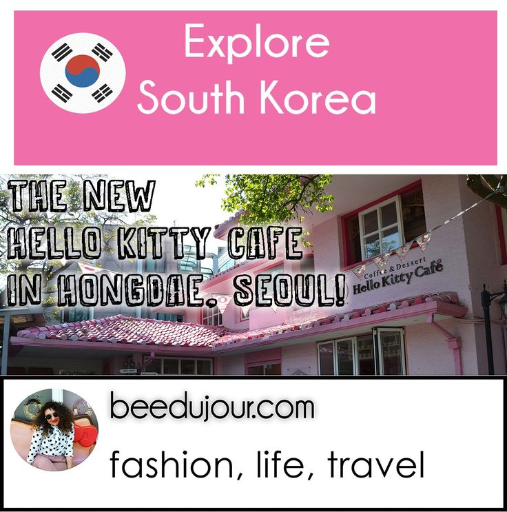 A New Hello Kitty Cafe in Hongdae · Bee Du Jour