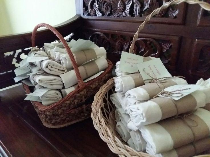 DIY Our rustic wedding souvenir package #rusticwedding #weddingsouvenir
