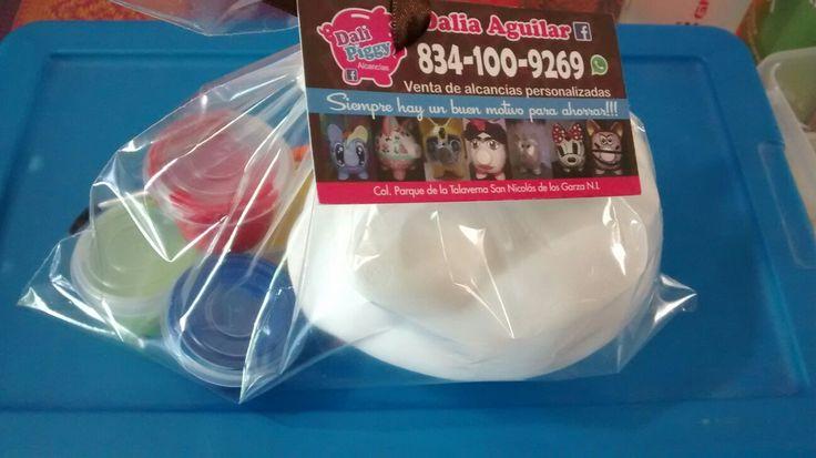 Alcancía pigy bank cerditos chonchitos decoradas Kit para tu fiesta