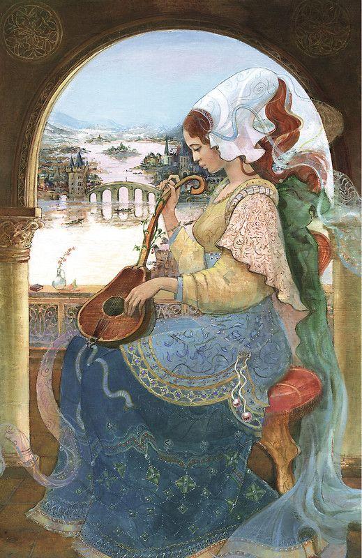 Illustration by Russian artist Natasha Tabatchikova