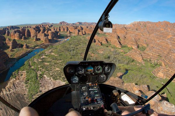 Extraordinary from the ground, viewing Purnululu National Park with HeliSpirit elevates this World Heritage area to a whole new level.From the air, the colours and natural patterns of the Bungle Bungles are nothing short of amazing!