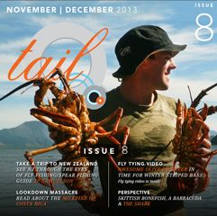 Tail Fly FIshing Magazine - Issue 8 November 2013 - There is a free saltwater fly tying video in every issue. Brought to you by Flyfishbonehead