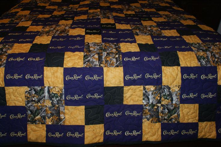 Crown Royal Quilt Custom Made to Order Crown by LuluBelleQuilts …