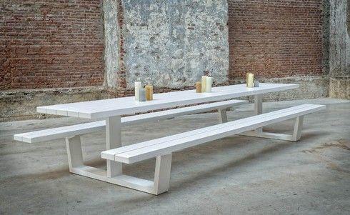 Picknick Gartentisch Alu auf Maß