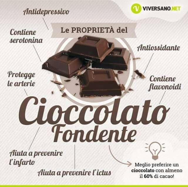 Proprietà del Cioccolato Fondente