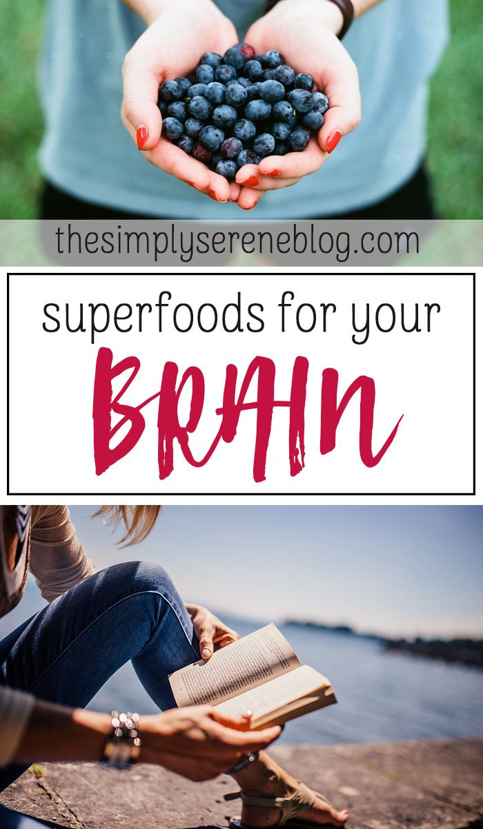 Superfoods for your Brain | What to eat for a healthy brain