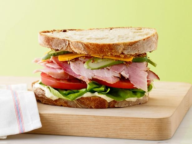 Get Ultimate Ham Sandwich Recipe from Food Network
