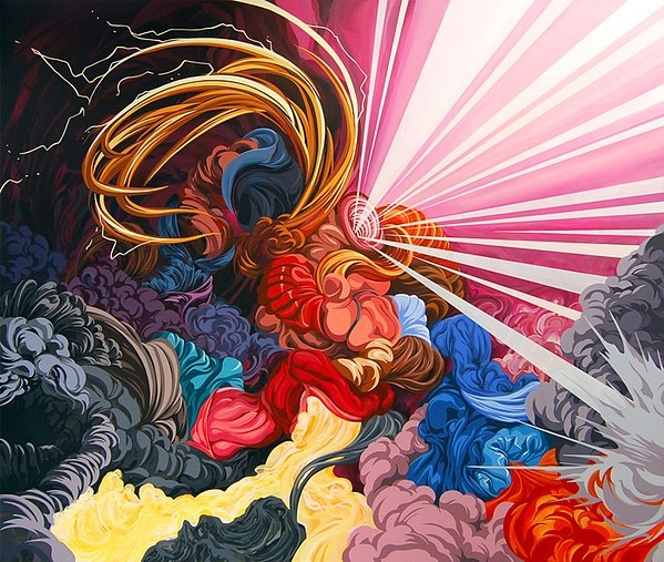 + Arte :     As pinturas abstratas de James Roper.