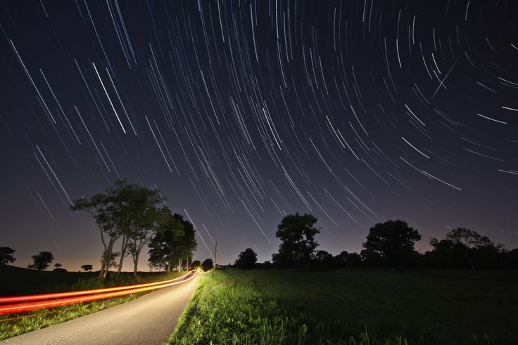 Astrophotographer Jodi Totten sent in a photo of a Perseid meteor taken in Mt. Juliet, Tennessee, on Aug. 13, 2014.