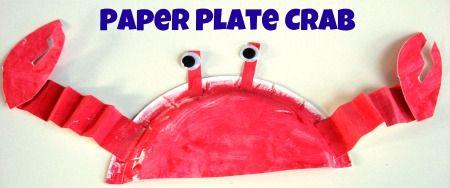 Krab; kartonnen bord