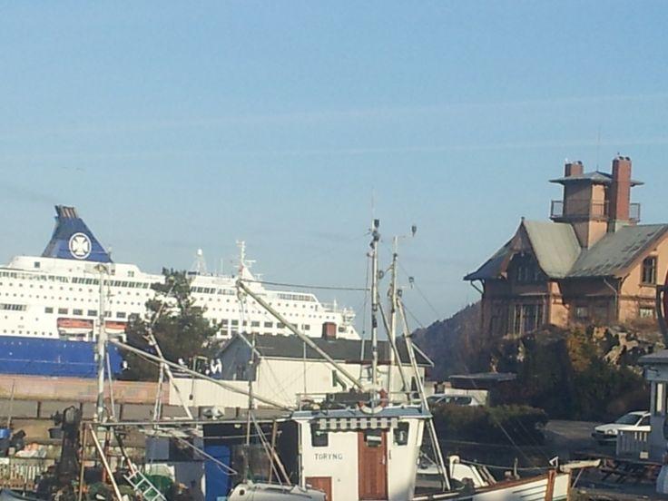 Båthavnen i Drøbak