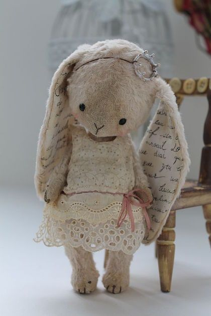 Magnifique doudou lapin Plus