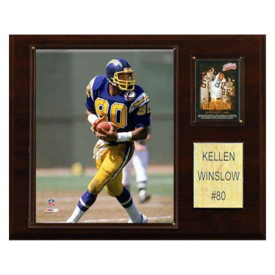 NFL 12 x 15 in. Kellen Winslow San Diego Chargers Player Plaque - 1215WINSL