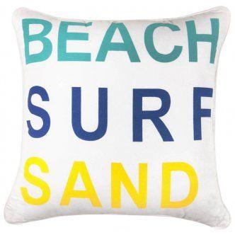 Coastal/Holiday Cushion.